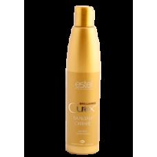 CUREX BRILLIANCE бальзам-сияние для всех типов волос 250мл