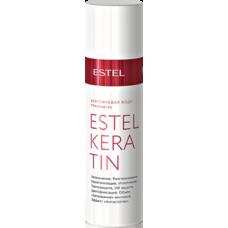 Кератиновая вода для волос 100мл Estel Keratin