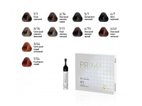Краска для волос Estel Prima 6/75 - тёмно-русый коричнево-красный, 10 мл